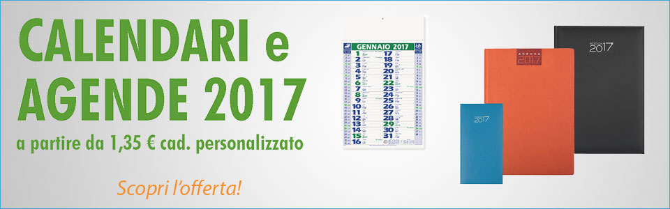 Calendari e agende 2017